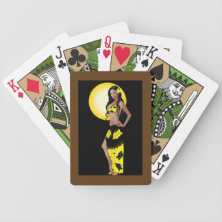 Wahine Pinup 1 Playing Cards
