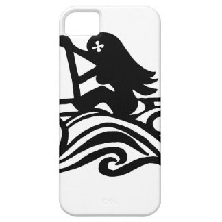 Wahine (woman) paddler products iPhone SE/5/5s case