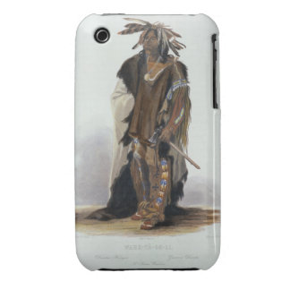 Wahk-Ta-Ge-Li a Sioux Warrior plate 8 from Volum Case-Mate iPhone 3 Cases