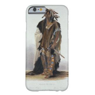 Wahk-TA-GE-Li, guerrero de Siux, platea 8 de Volum Funda De iPhone 6 Barely There