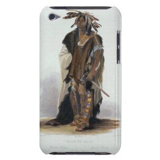 Wahk-TA-GE-Li, guerrero de Siux, platea 8 de Volum iPod Touch Case-Mate Protectores