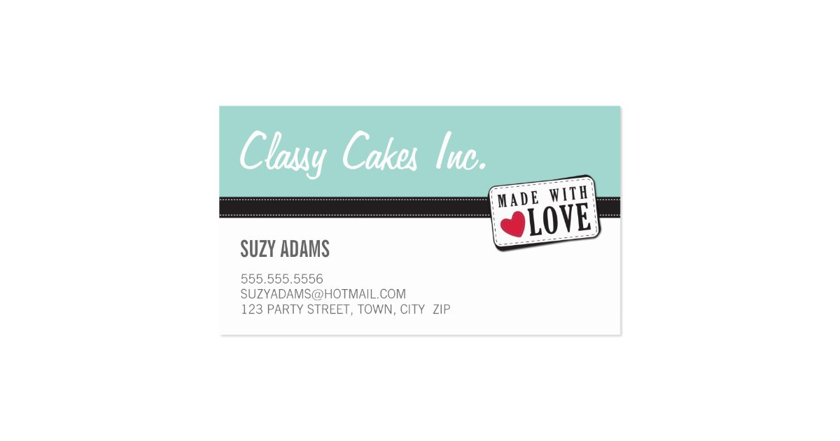 WAHM BUSINESS CARDS made with love 6