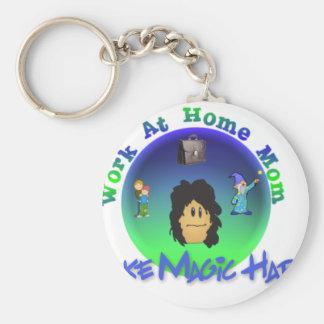 WAHM  I Make Magic Happen Keychain