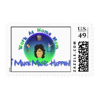 WAHM Magic Postage Stamps