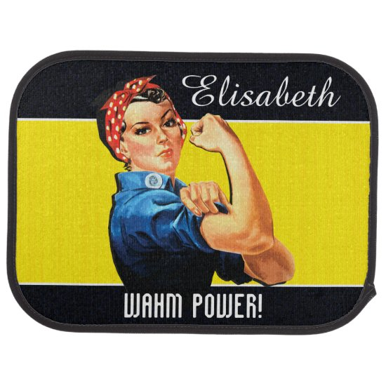 WAHM Power! - Work at Home Mom Car Floor Mat