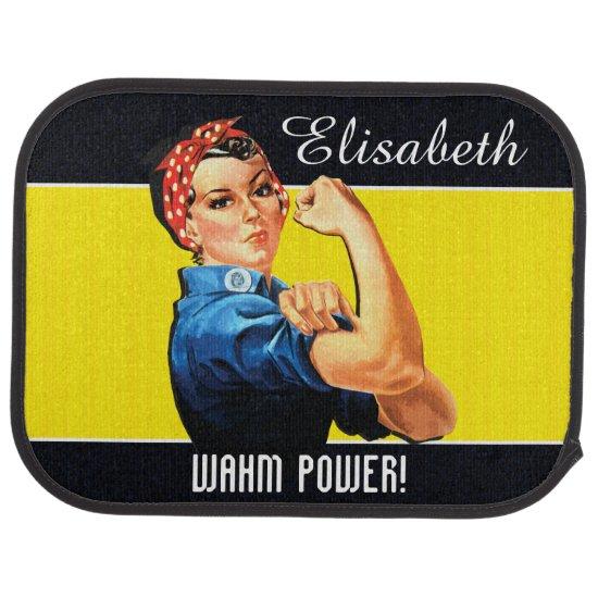WAHM Power! - Work at Home Mom Car Floor Mat