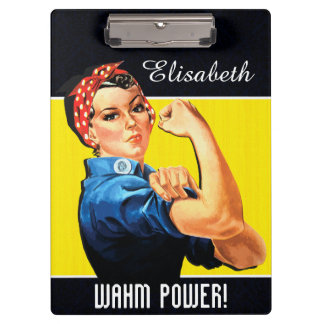 WAHM Power! - Work at Home Mom Clipboards