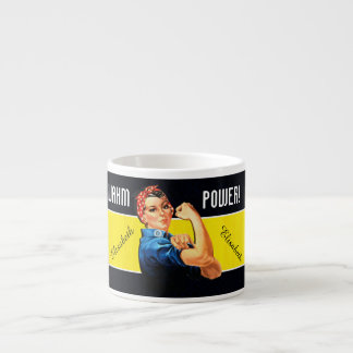 WAHM Power! - Work at Home Mom Espresso Cup