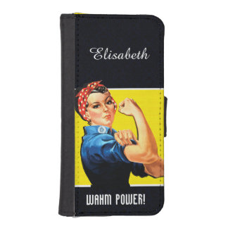 WAHM Power! - Work at Home Mom Phone Wallet