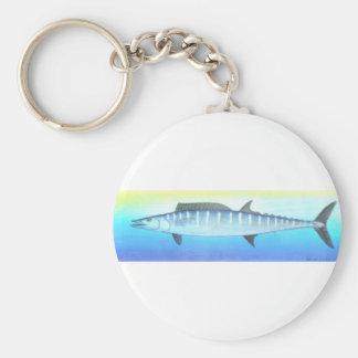 Wahoo fish keychain