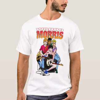 WahooMorris_01_White T's T-Shirt