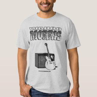 WahooMorris_Guitar&Amp Design Shirt