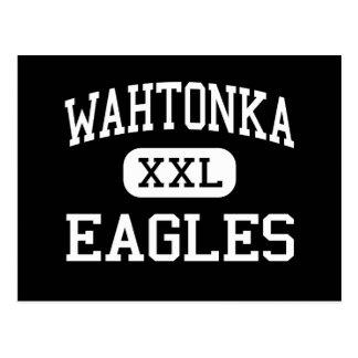 Wahtonka - Eagles - High - The Dalles Oregon Postcard