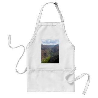 Waiamea Canyon Kauai Adult Apron