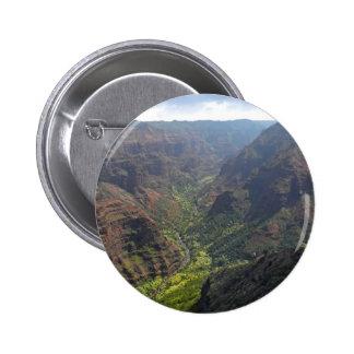 Waiamea Canyon Kauai Pinback Button