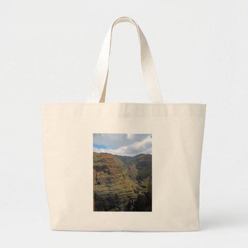 Waiamea Canyon Kauai Canvas Bags