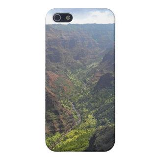 Waiamea Canyon Kauai iPhone 5 Cases