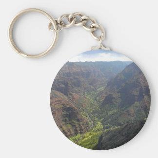 Waiamea Canyon Kauai Keychains