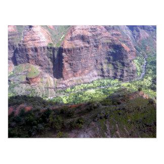 Waiamea Canyon Kauai Postcard