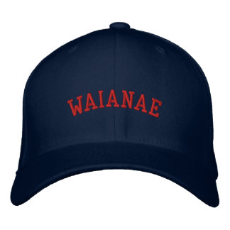 Waianae Seariders Fitted Hats Embroidered Baseball Cap