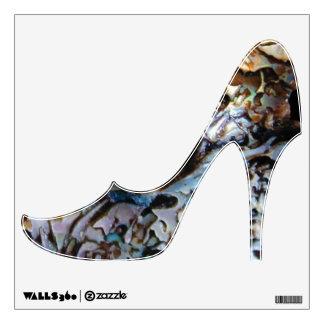 """""""Waiheke Island"""" - Paua Shells Shoe Wall Sticker"""