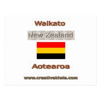 Waikato, Nueva Zelanda Aotearoa Tarjeta Postal