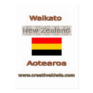Waikato, Nueva Zelanda Aotearoa Postales