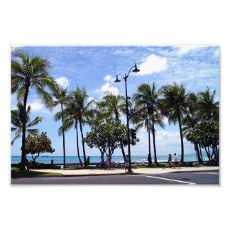 Waikiki Beach again Photo Print