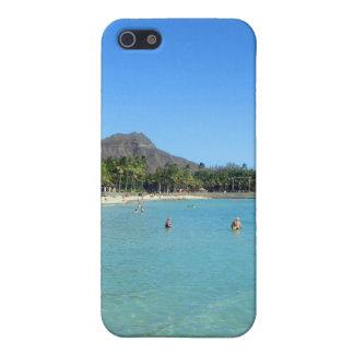 Waikiki Beach and Diamond Head Crater, Hawaii iPhone SE/5/5s Case