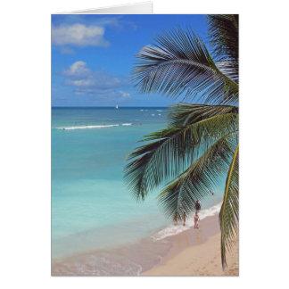 Waikiki Beach Card