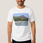 Waikiki Beach, Kuhio Beach, Palms, Diamond Head! Tee Shirt