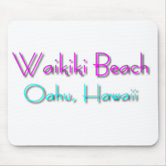Waikiki Beach Mouse Pad