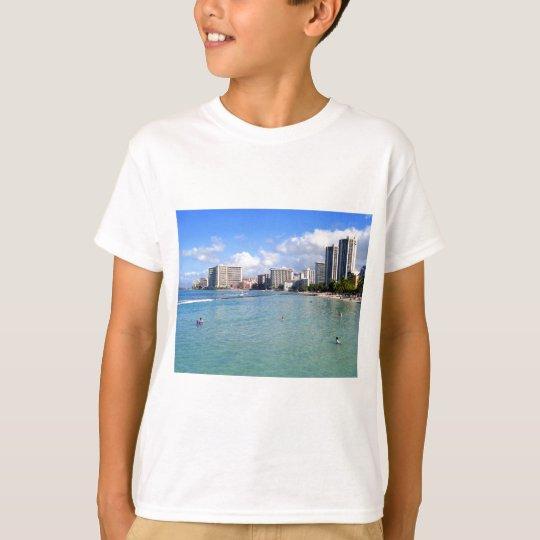 Waikiki Beach, Oahu, Hawaii T-Shirt