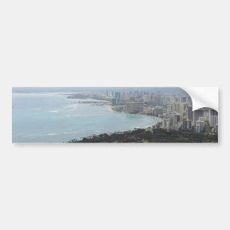 Waikiki Pegatina De Parachoque
