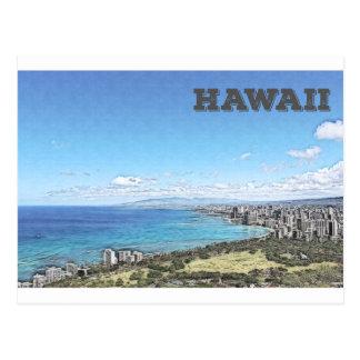 Waikiki, Hawaii Postcard