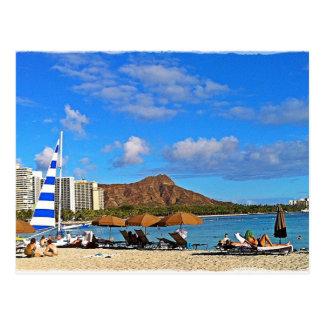 Waikiki, Hawai'i Postcard