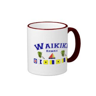 Waikiki, HI Coffee Mugs