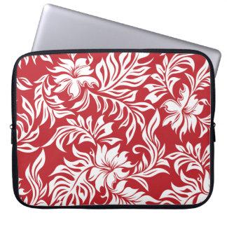 Waikiki Hibiscus Hawaiian Neoprene Wetsuit Laptop Sleeve