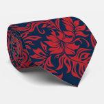 Waikiki Hibiscus Hawaiian Two-sidedprinted Tie at Zazzle