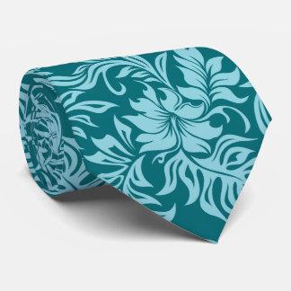 Waikiki Hibiscus Hawaiian Two-sidedPrinted Tie