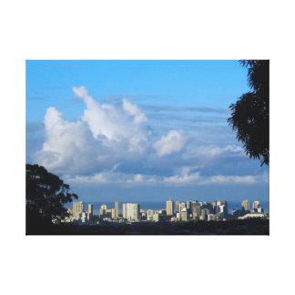 Waikiki Morning Canvas Print