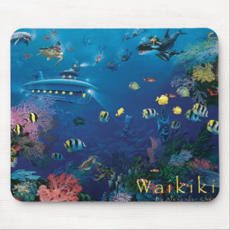 Waikiki Mousepad