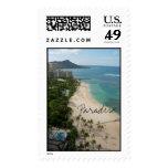 Waikiki Paradise, Paradise Postage Stamps