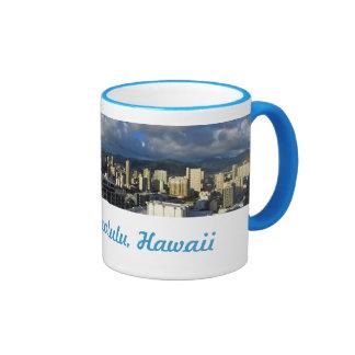 Waikiki Skyline Coffee Mug