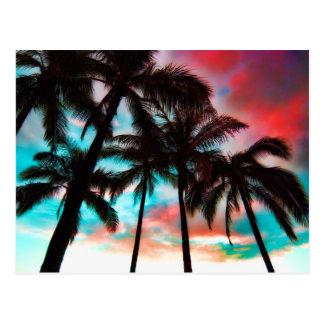 Waikiki Skyscape Postcard