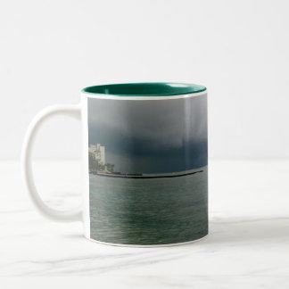 Waikiki Storm Two-Tone Coffee Mug