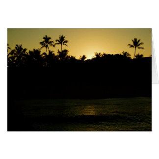 Waikiki Sunrise Card