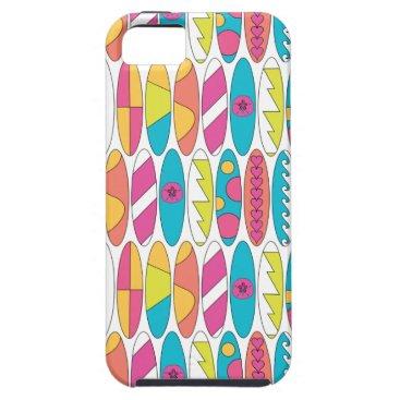 Beach Themed Waikiki Surfboards iPhone SE/5/5s Case