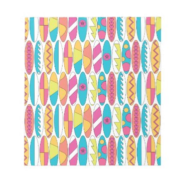 Beach Themed Waikiki Surfboards Notepad