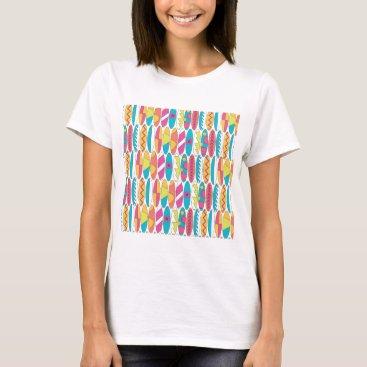 Beach Themed Waikiki Surfboards T-Shirt